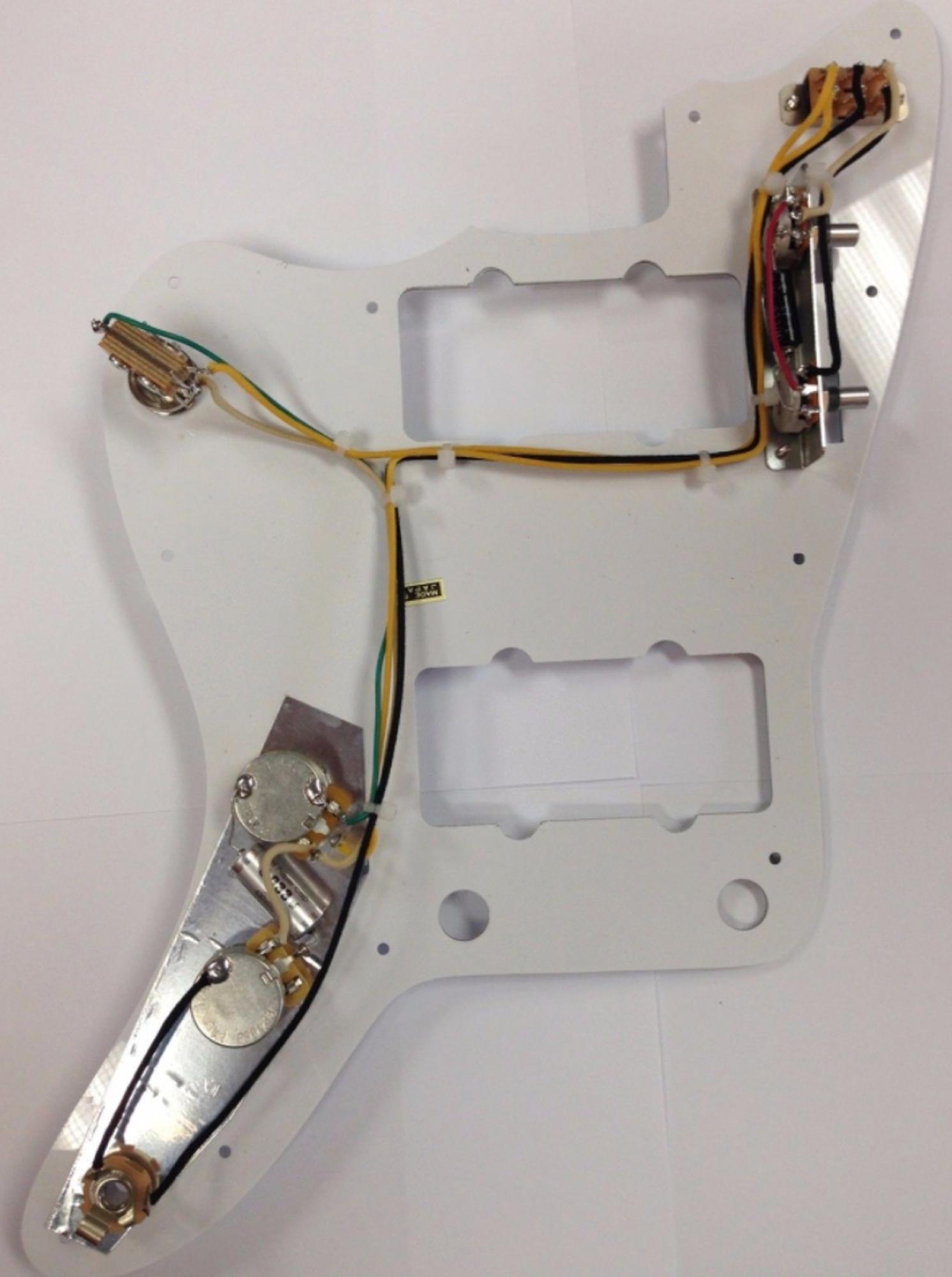 Standard Jazzmaster Wiring Harness on