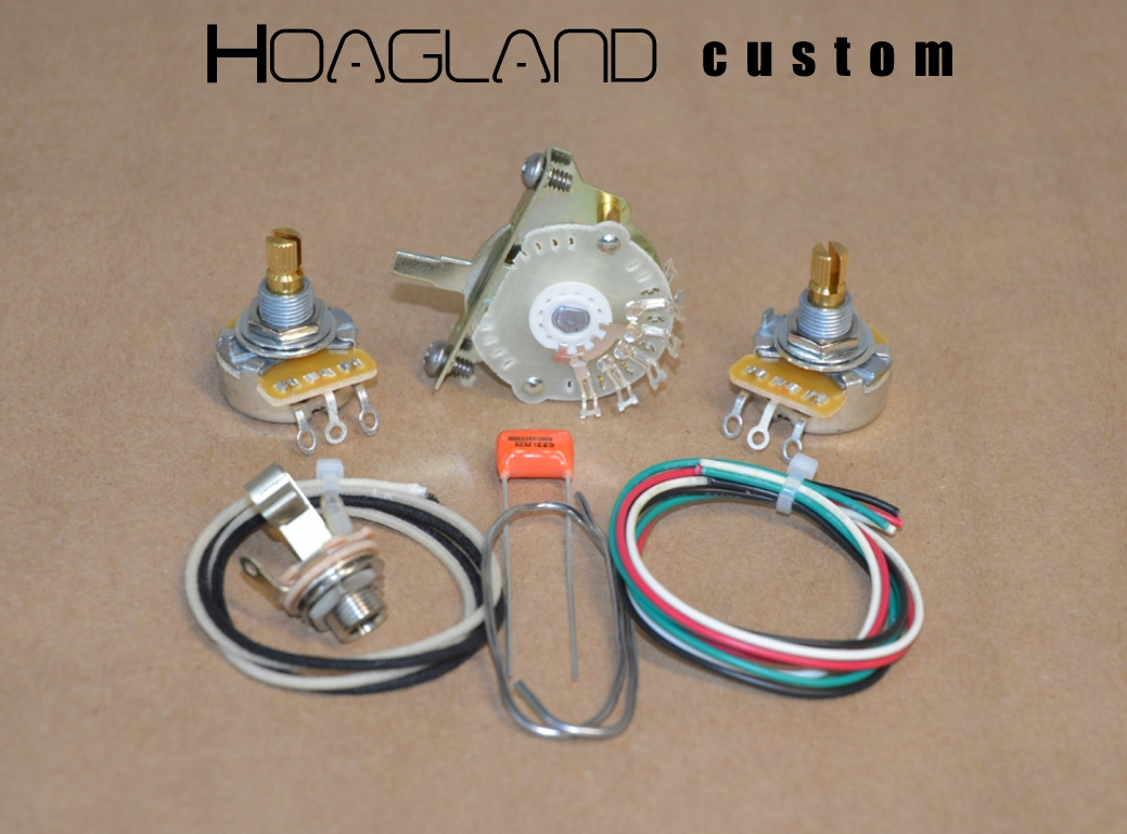 Tele Wiring Harness Trusted Schematics Diagram Esquire Style Kit 4 Way Switching Hoagland Custom Telecaster