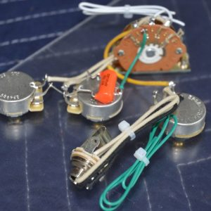 """Highway One"""" Style Stratocaster Wiring Harness – for 3 ... on"""