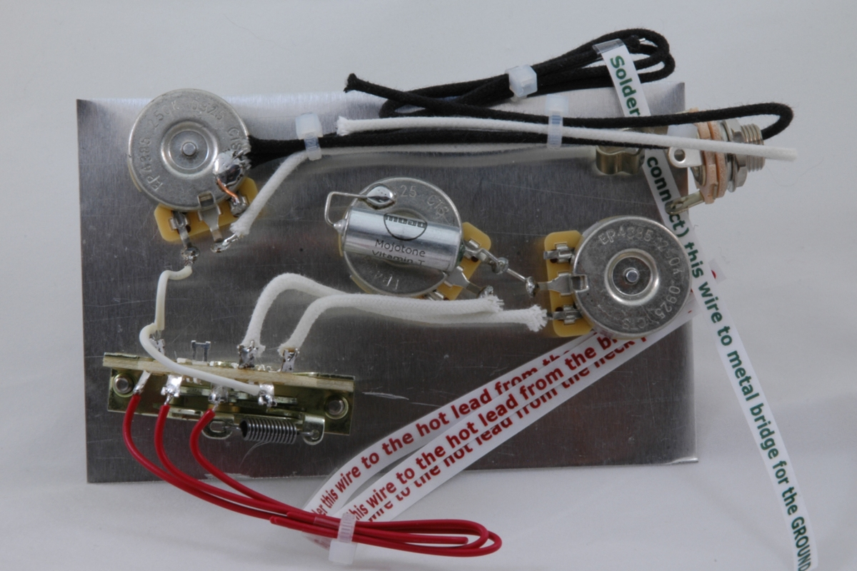 U201chighway One U201d Style Stratocaster Wiring Harness  U2013 For 3 Single Coil Pickups  5