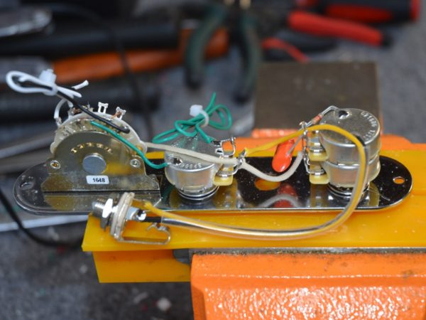 3 Way Tele Wiring Harness - Owner Manual & Wiring Diagram Nashville Tele Wiring Harness on