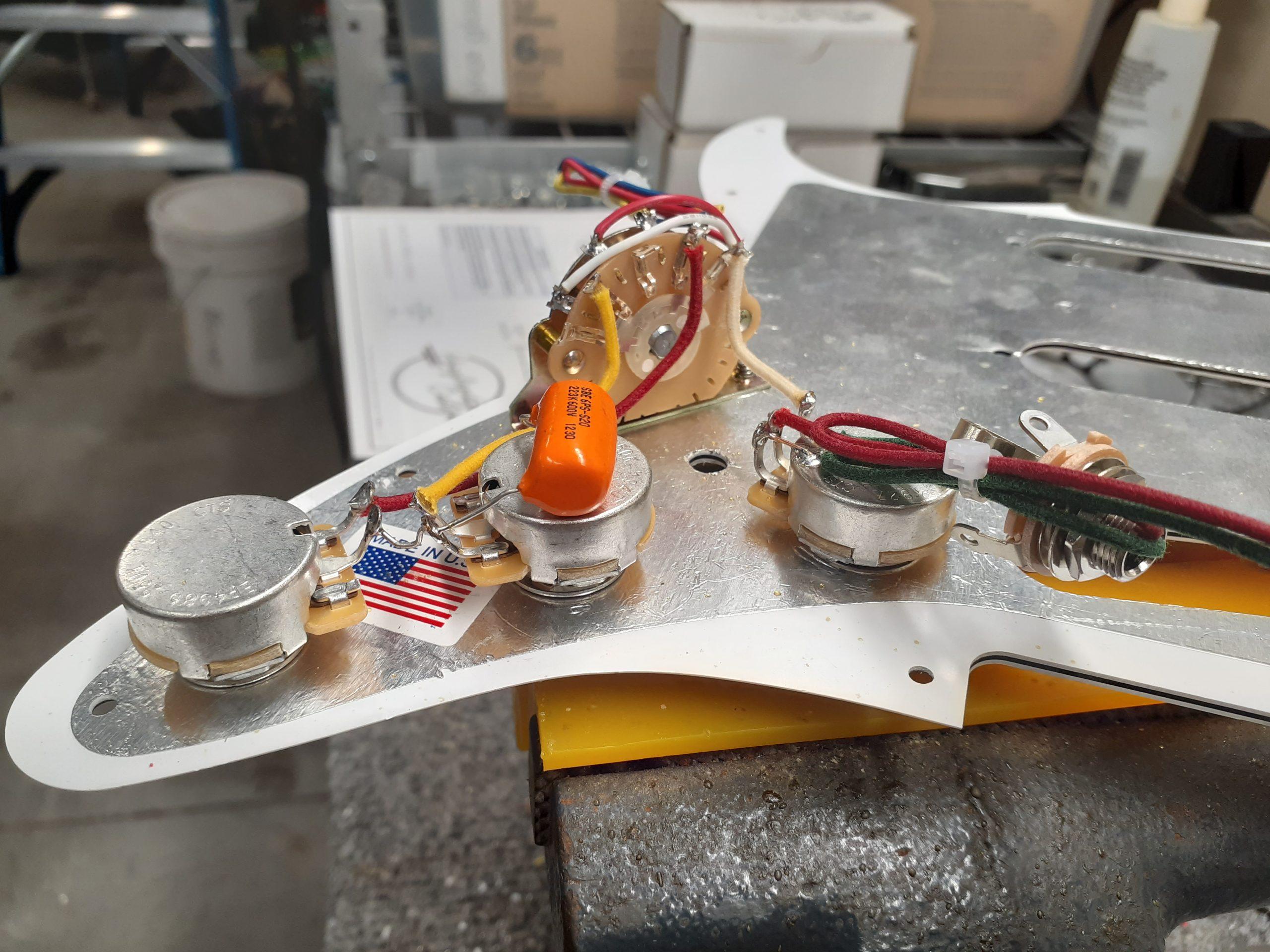 Stratocaster Wiring Harness  U2013 6